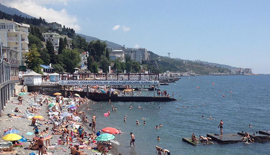 Ялта, Массандровский пляж, Crimea, Yalta