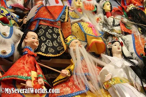 Jiufen Puppets