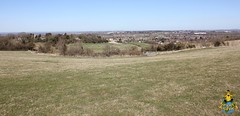 Looking Down on Wroughton, Wiltshire