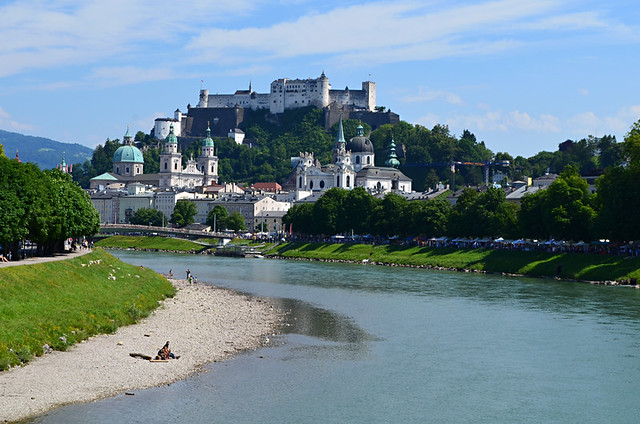 River Salzach, Salzburg