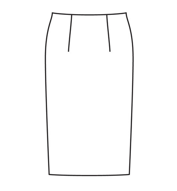 basic skirt sloper