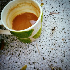 Mugshot  #quornflour #coffee #nomnom #morning #stoop #somerville