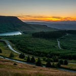 Sunset, Rhigos Mountain, Craig-y-llyn
