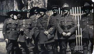 A Group at Steenwerck - Sgt Moss