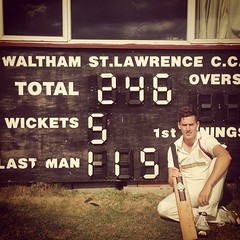 A cracking 115 not out from the OC