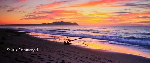 sunset beach clouds atardecer playa cielo mexique messico rivieranayarit arenamarysol atardecerenlitibu
