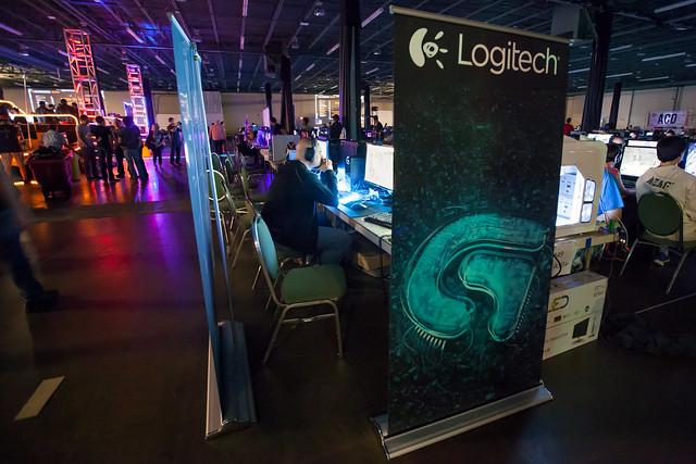 Header of logitech