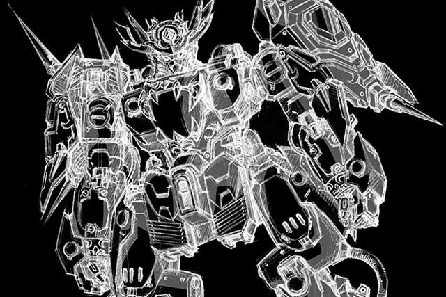 極機密資料!BANDAI × threezero《重甲侍鬼》珍貴的開發草圖曝光!