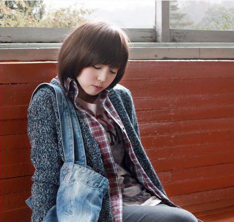Các kiểu tóc ngắn đẹp! Tóc ngắn ép, uốn xoăn Hàn Quốc 23