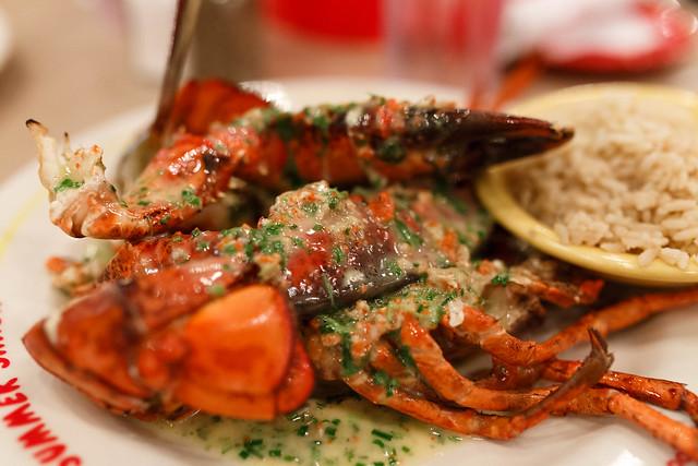 Lobster at Summer Shack, Boston!