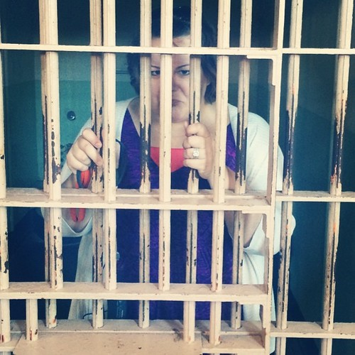 Locked up. #alcatraz #sanfrancisco #kategoestocalifornia