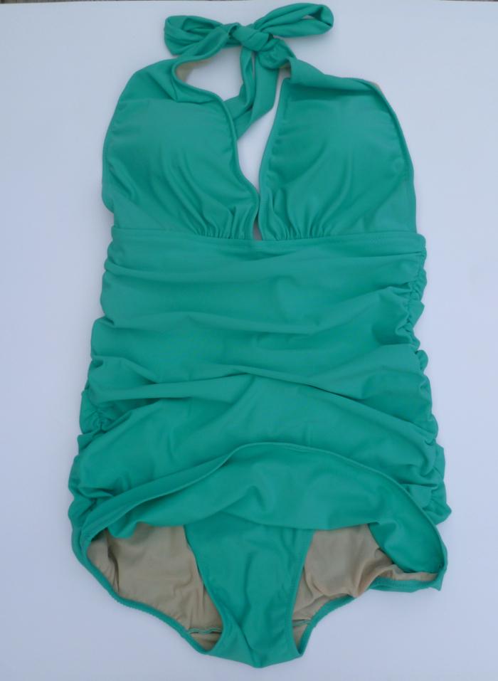 Bombshell Bathing Suit - flat by Hey, It's SJ