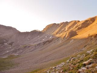 Elkhead Pass and Glowing Missouri Ridge