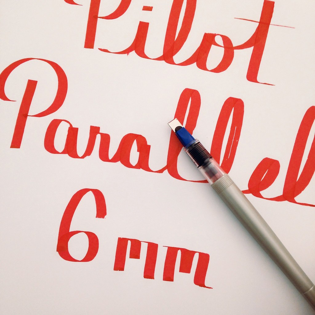 how to change paralell piolet pen ink