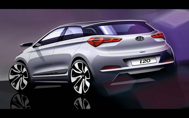 New Generation i20 Rendering_Rear