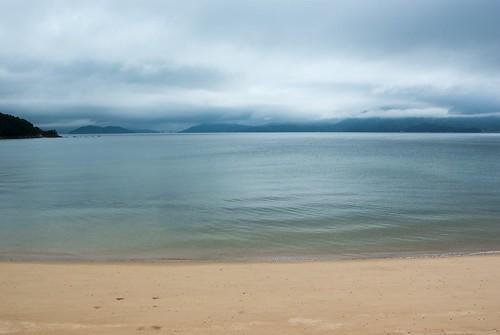 Clouds, Seto Inland Sea & beach