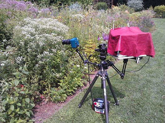 High Speed Camera Setup