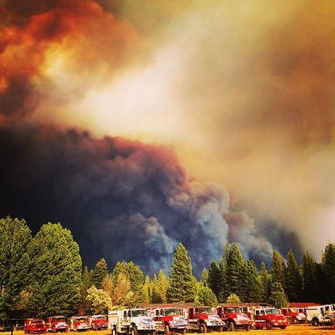 Redding Fire Dept August 2014