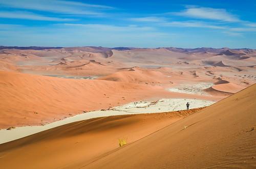 Dead Vlei Chott de Big Daddy dune, Namibie