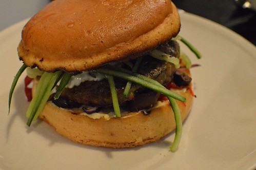 Burger 10: Lamb burger