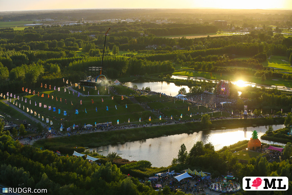 Mysteryland sunset