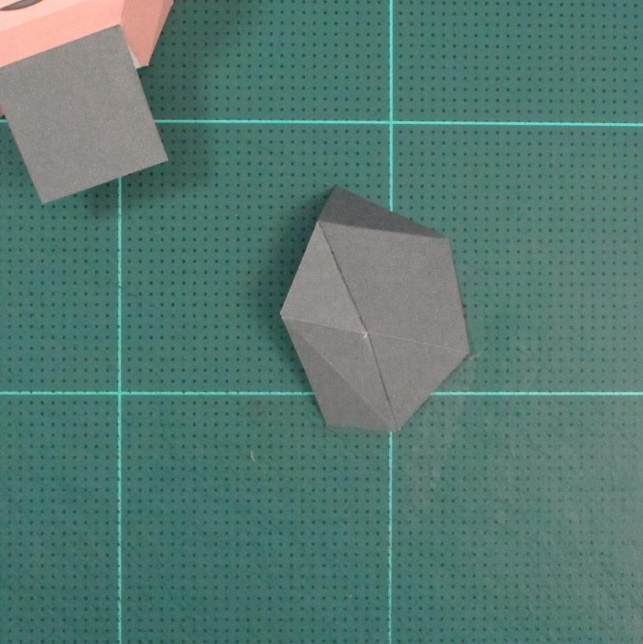 วิธีทำของเล่นโมเดลกระดาษซุปเปอร์แมน (Chibi Superman  Papercraft Model) 010