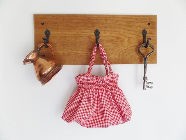 Smocked Peg Bag