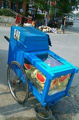Watermelon Cart, Indonesia