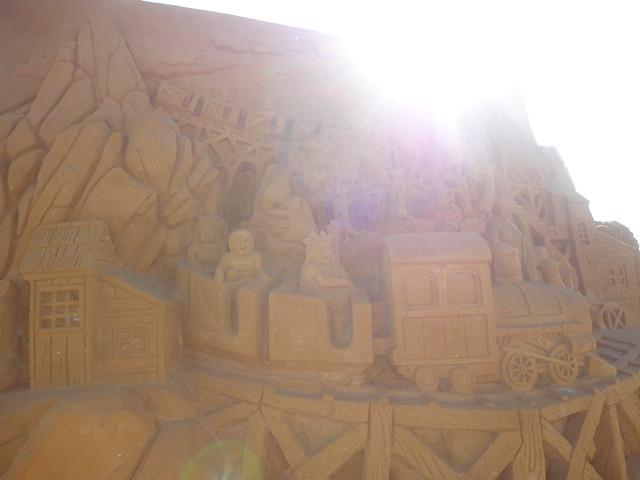 Sculpures sur sable Disney - News Touquet p.1 ! 14956534952_279db0eeac_z