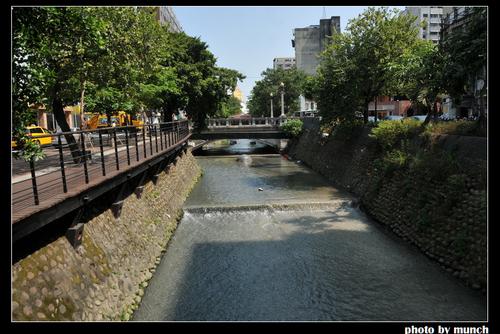 台中。綠川。圖片來源:munch