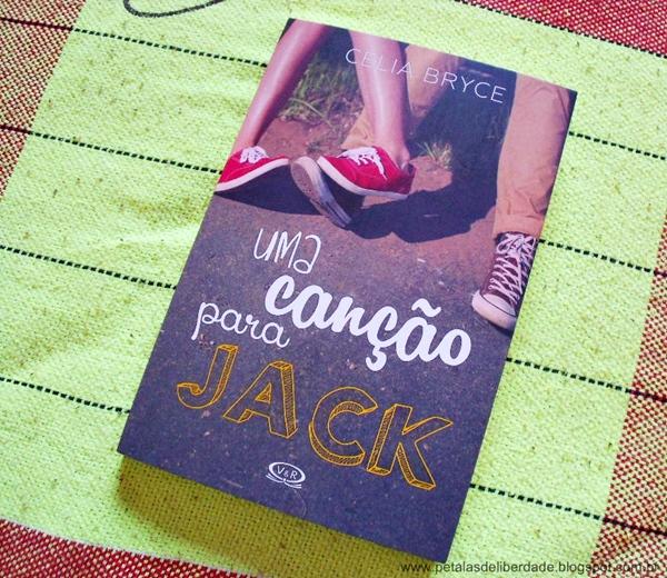 Capa do livro Uma canção para Jack, Celia Brice