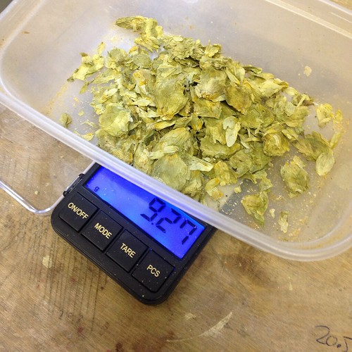 AG#127 - Belgian Extra Blonde, light hopping today.