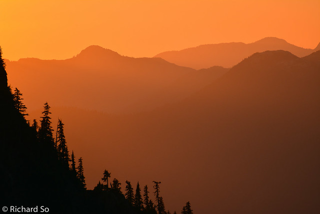 Howe Sound Sunset