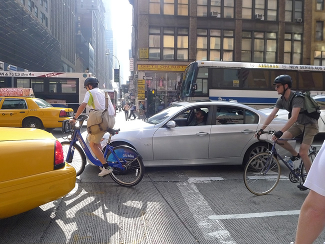Biking, in NYC