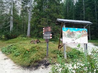 Wegweiser Zsigmondyhütte Weg Nr. 103