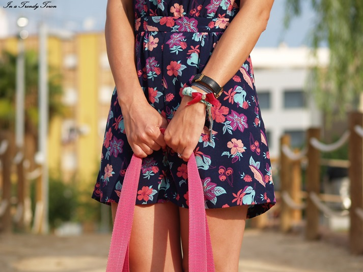 Flower playsuit