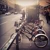 explore stockholm... on vampire city bikes.