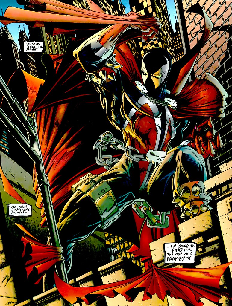Spawn splash page