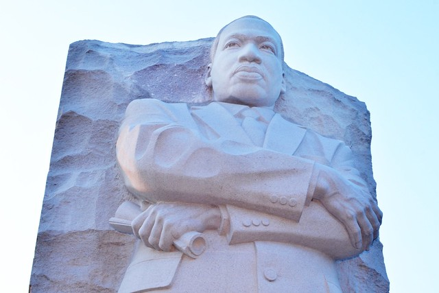 MLK Memorial (Looking Up)
