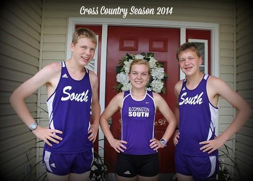 Pfeiffer Cross Country Season 2014