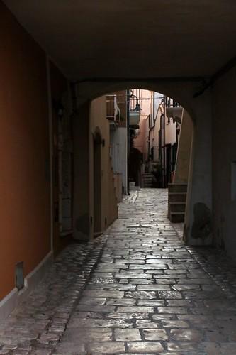 Termoli: strade della città vecchia