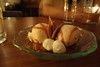 Old Fashioned Ice Cream - Bulleit Bourbon Caramel, Angostura Bitters Ice Cream, Whipped Cream