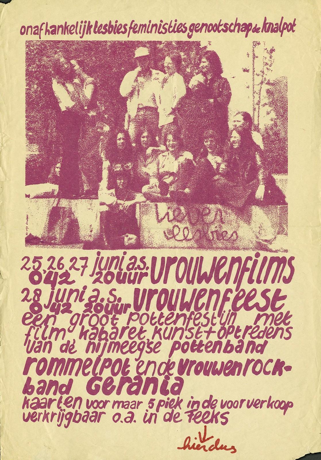1978 Lesbiese Maand Nijmegen