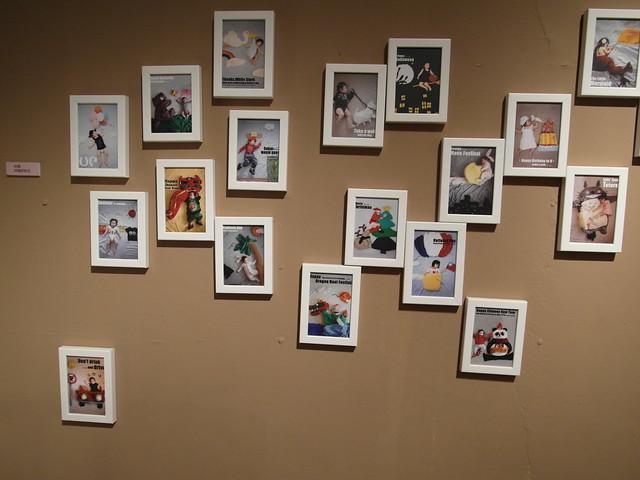 牆上是咩媽做夢趣的夢境照系列圖@駁二幾分甜人生況味展
