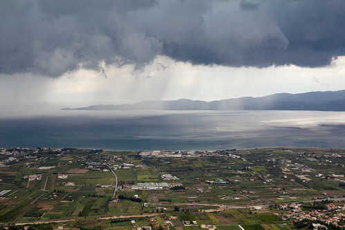 corinth greece thunderstorm 2014 grieķija