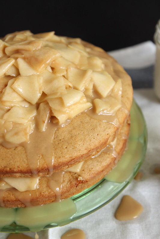 15230271176 337cc18cf0 c Caramel Apple Layer Cake