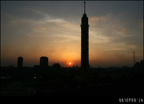 Sunset in Cairo