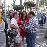 Caminhada na Av. Paulista
