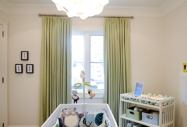 Baby's room. Princess Margaret Showhome in Oakville