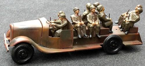 Jouets Citroën C23 militare
